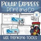 North Pole Express Train for Reading Activities