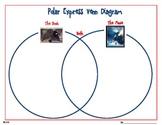Polar Express Venn Diagram Book vs Movie