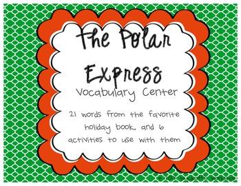 Polar Express Vocabulary Center