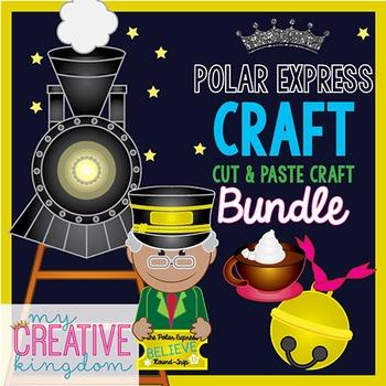 Polar Express Winter Train Conductor Craft Bundle