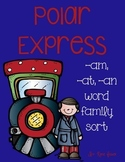 Polar Express Word Family Sort