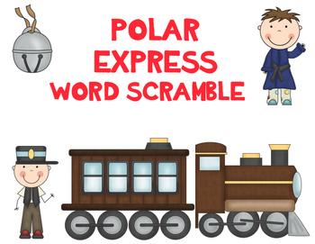 Polar Express Word Scramble