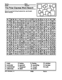 Polar Express Word Search Printable