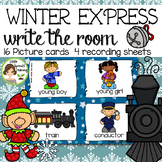 Polar Express Write the Room - 16 cards four versions, four recording sheets