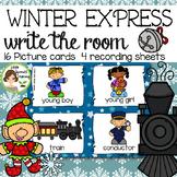 Polar Express Write the Room - 16 cards four versions, fou