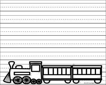 Polar Express Writing Paper - Polar Express Activities - Christmas Writing