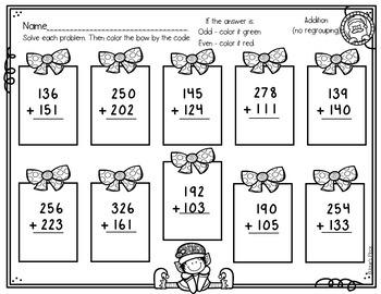 Polar Express and December Fun for Grades 2 and 3