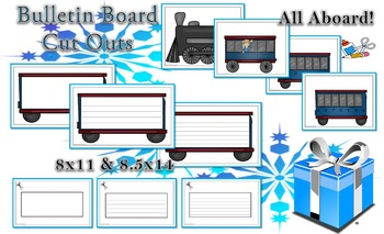 Polar Express by Chris Van Allsburg Character Fold-Ems and Extras