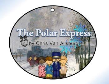 Polar Express by Chris Van Allsburg Circle Graphic Organizer Analysis Activity