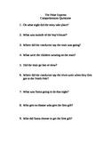 Polar Express-comprehension questions