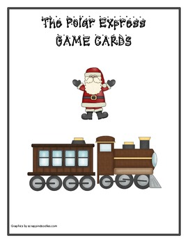 Polar Express game cards