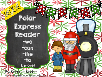 Polar Express sight word reader