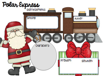 Polar Express themed Literacy Activities