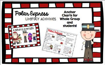 Polar Express themed Literacy Activities