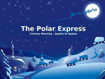 Polar Express vocabulary PowerPoint