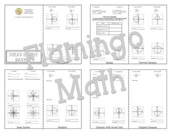 Polar Graph Basics Foldable®