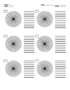 Polar Graph Grid Paper