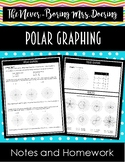 Polar Graphing Notes and Homework (Precalculus)