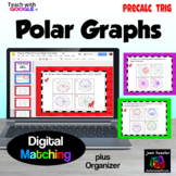 Polar Graphs Digital Task Cards and Matching with Google S