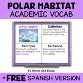 Polar Habitat Projectable Academic Vocabulary