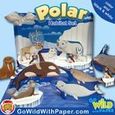 Polar Habitat Craft Activity | Arctic Animal Habitat Diorama