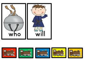 Polar Journey Pre-primer Dolch Word game