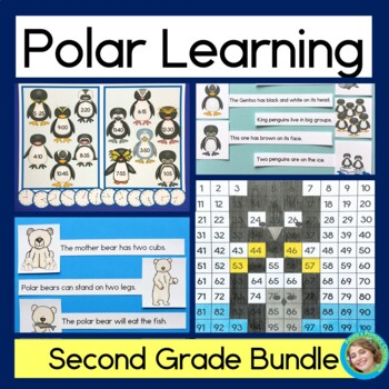 Polar Learning Bundle - 2nd grade (Science, Reading, Time,