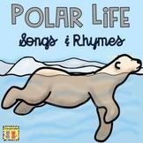 Polar Life Songs & Rhymes | Arctic | Antarctic | Polar Bears | Penguins