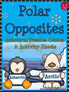Polar Opposites Antonym Puzzles Center