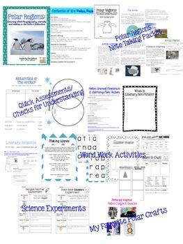 Polar Pack:  Learning about Polar Regions Across the Curriculum