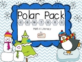 Polar Pack Math & Literacy Centers