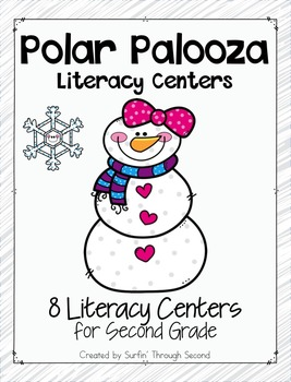 Polar Palooza Literacy Centers for Second Grade