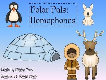 Polar Pals:  Homophones