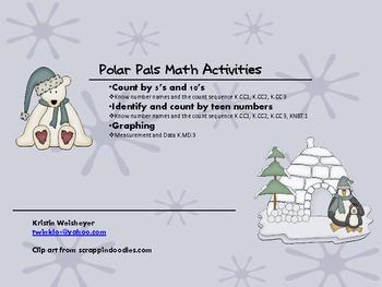 Polar Pals Math Activites