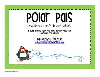 Polar Pals Math Activities