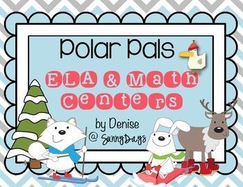 Polar Pals Math Centers