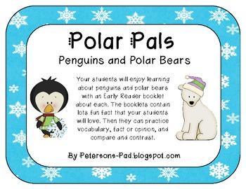 Polar Pals {Penguin and Polar Bear Non-Fiction Booklets with activities}