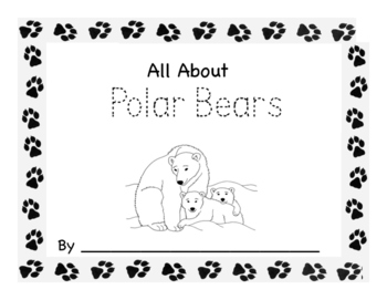 Polar, Panda, Grizzly and Black Bears Workbooks