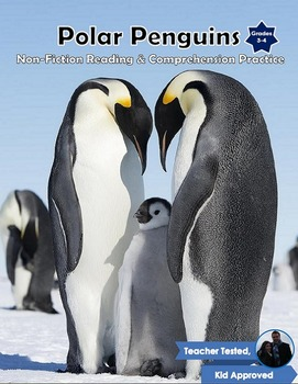 Polar Penguins: Nonfiction Reading, Comprehension, and Craftivity pack!