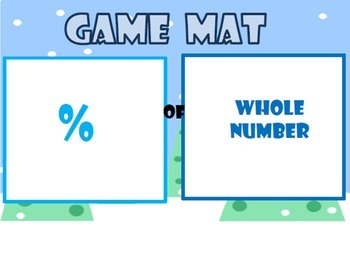 Polar Percent: Multiplying Percents and Whole Numbers FREEBIE