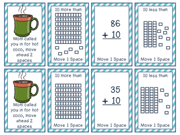 1.NBT.C.5 - Polar Place Value Board Game