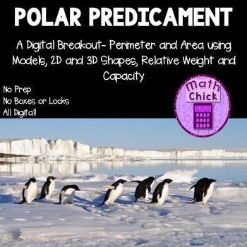 Polar Predicament Digital Breakout Area Perimeter Shapes Weight Escape Room