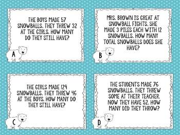 Polar Problems Winter Math Center