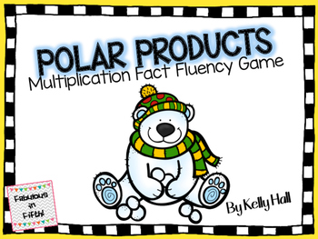 Polar Products:  Multiplication Fact Fluency Game
