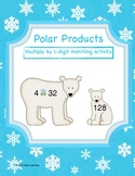 Polar Products: Multiplying by 1-Digit Center (Common Core Aligned)