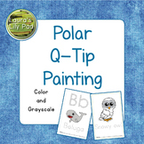 Polar Q-tip Painting