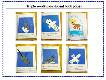 Polar Animals - Let's Make a Book