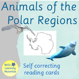 Polar Region Animals - Montessori 3 - Part Cards