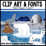 Polar Region Clipart/Graphics