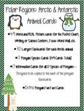Polar Regions - Animal Word & Picture Cards